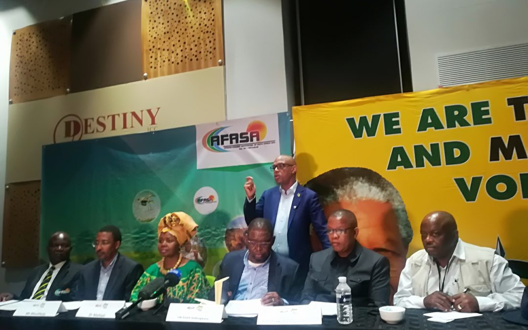 ANC and AFASA share same views on expropriation without compensation